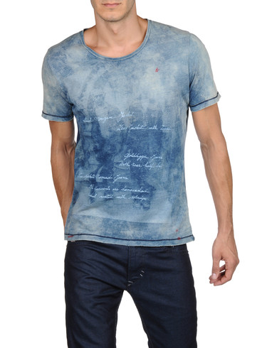 DIESEL - Short sleeves - T-FAUNO-RS 00GOY