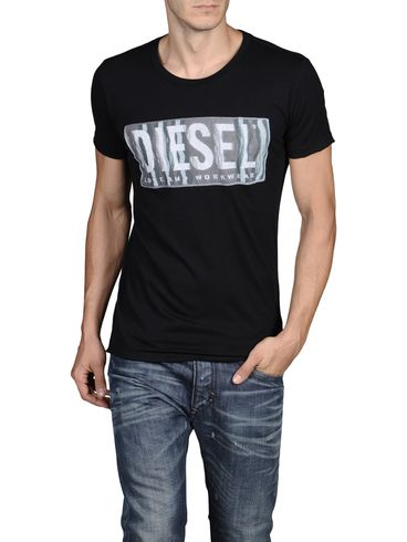 DIESEL - Short sleeves - T-CONOPUS-RS 0091B