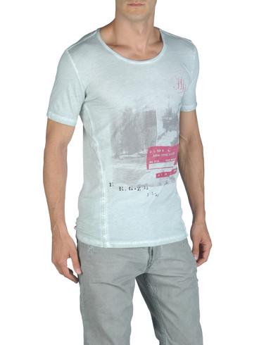 DIESEL - Short sleeves - T-INTI-RS 00PQX
