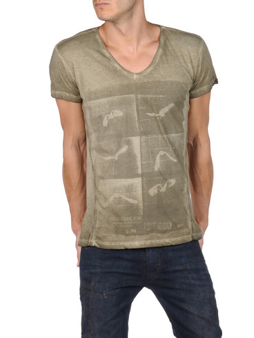 DIESEL - Short sleeves - T-HENG-RS 00PQX