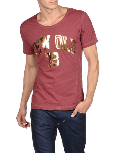 DIESEL - Camiseta - T-NEW-OLD-RS