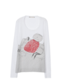 MARNI - T-shirt manica lunga