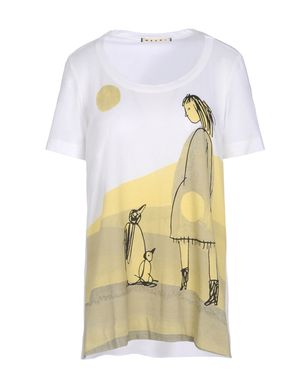 T-shirt maniche corte Donna - MARNI