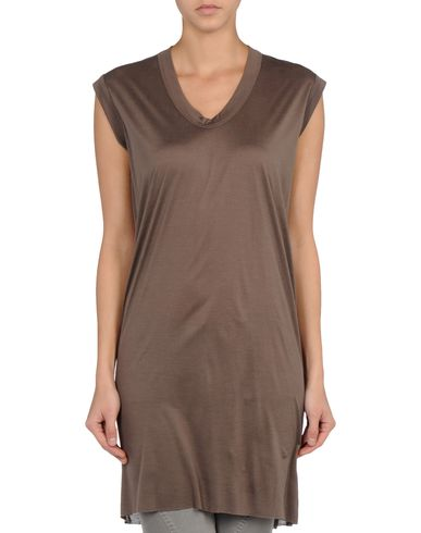 RICK OWENS - Sleeveless t-shirt