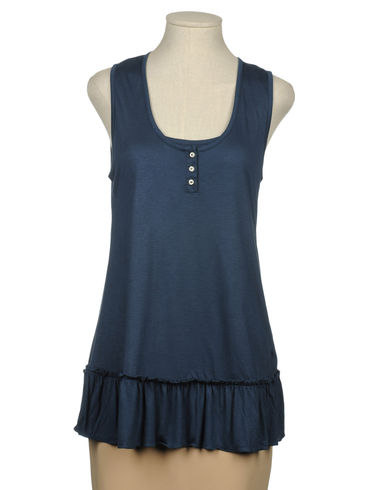 BURBERRY - Sleeveless t-shirt