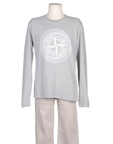STONE ISLAND JUNIOR - Long sleeve t-shirt