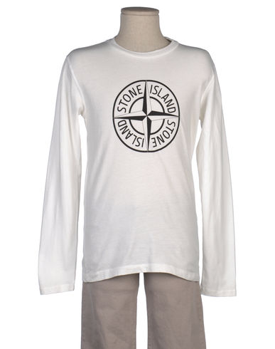 STONE ISLAND JUNIOR - T-shirt