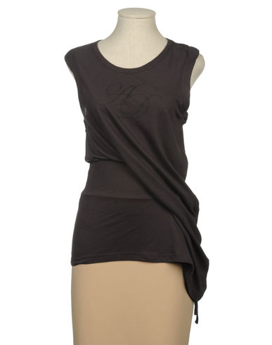 ANN DEMEULEMEESTER - Sleeveless t-shirt