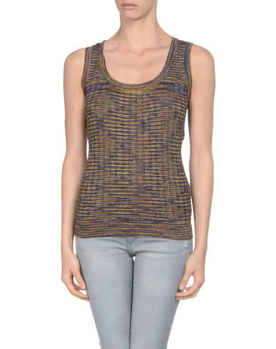 M MISSONI - Sleeveless jumper