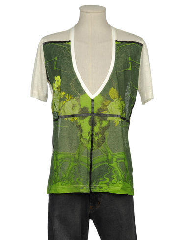 JOHN GALLIANO - Short sleeve t-shirt