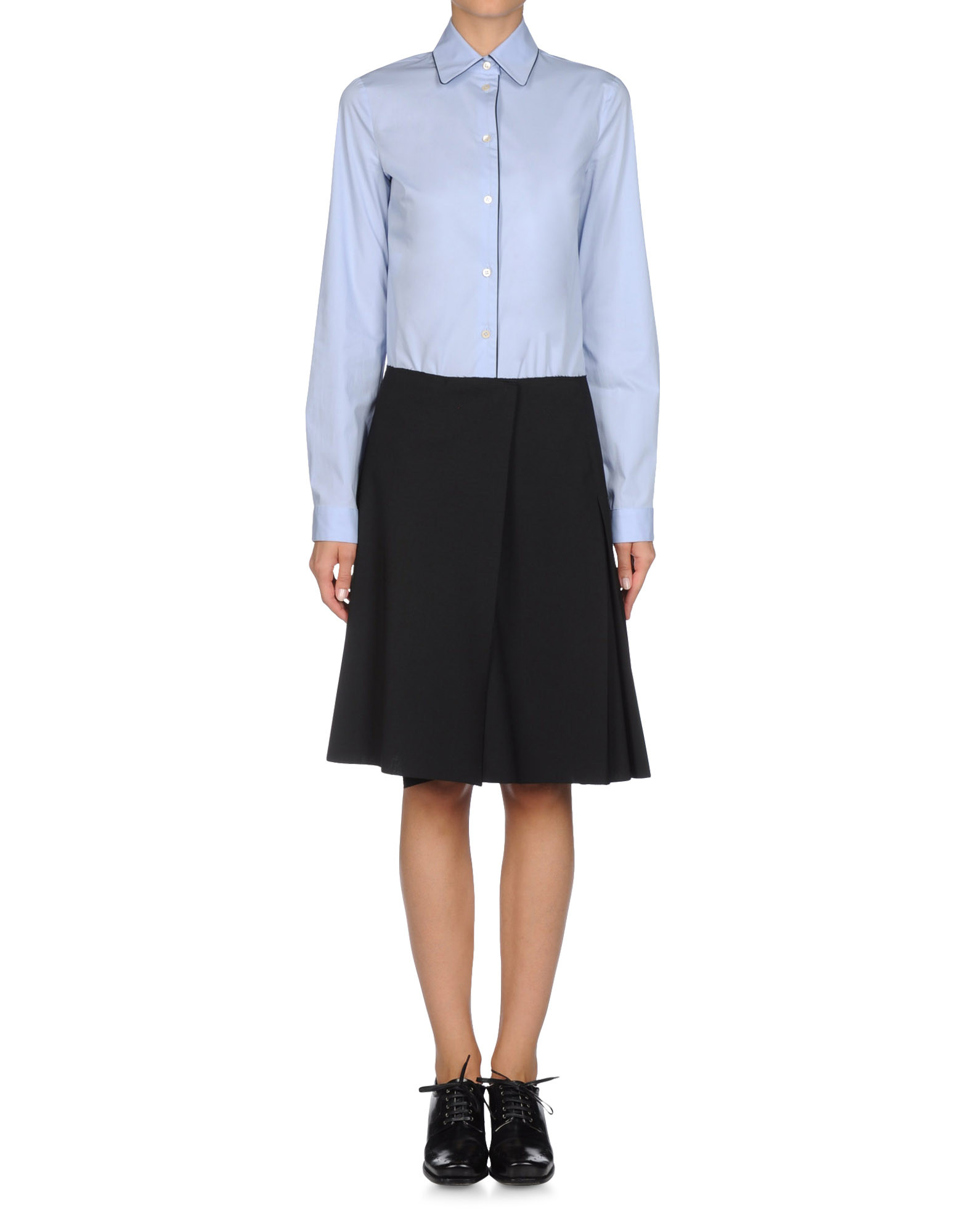 Camicia - JIL SANDER NAVY Online Store