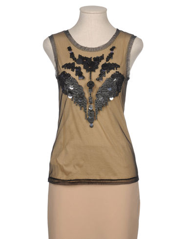 STEFANEL - Sleeveless t-shirt