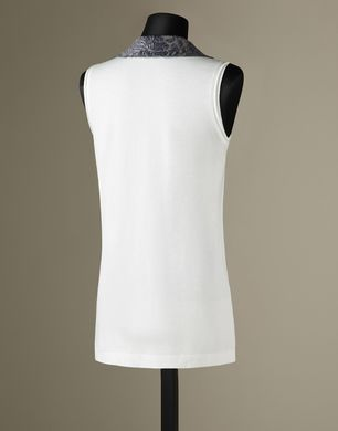BROCDE COLLAR TANK TOP - T-Shirts  - Dolce&Gabbana - Winter 2016