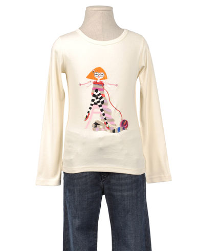 RYKIEL ENFANT - Long sleeve t-shirt