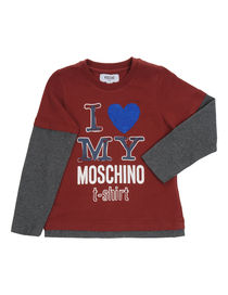 MOSCHINO KID - Long sleeve t-shirt