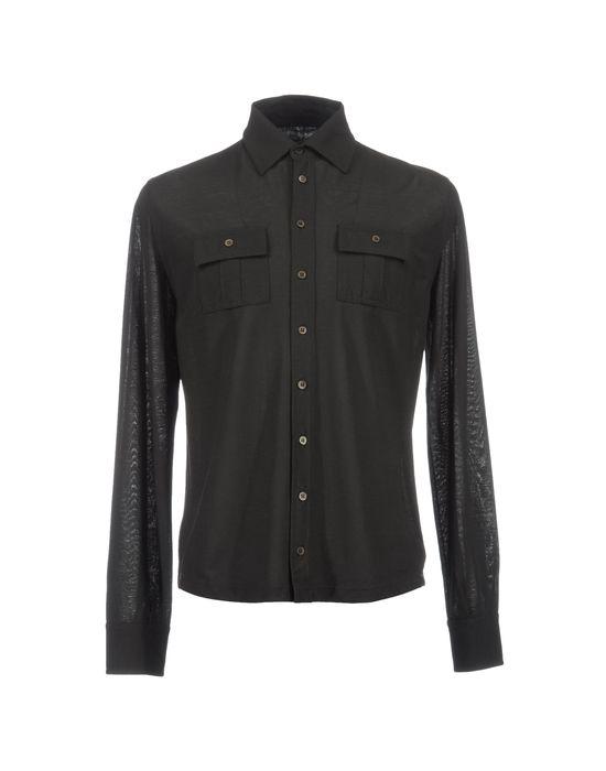 цена  ZANONE Рубашка с длинными рукавами  онлайн в 2017 году