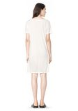 T by ALEXANDER WANG SLUB CLASSIC BOATNECK DRESS  Short Dress Adult 8_n_r