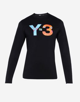 Y-3 - Langrmliges T-shirt
