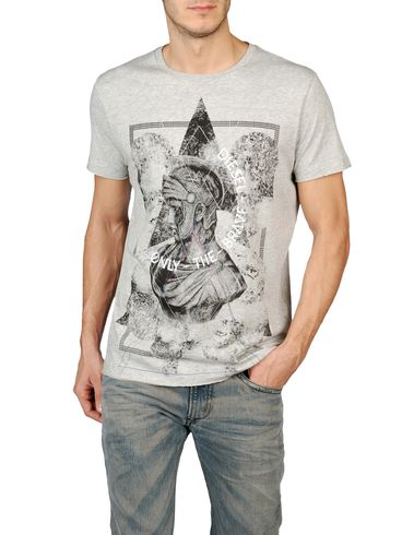 DIESEL - Short sleeves - T-SIMPSON-R 0091B