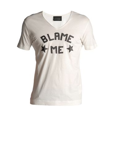 T-shirts & Tops DIESEL BLACK GOLD: TAICIY-BLAME