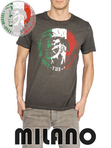 DIESEL - Short sleeves - SO-T-MILANO-R