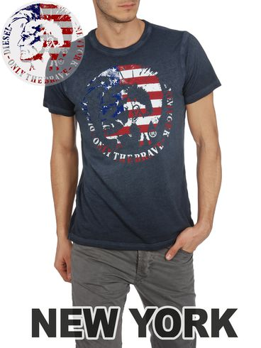DIESEL - Short sleeves - SO-T-NEWYORK-R