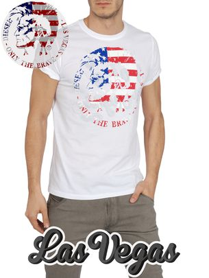Diesel Short Sleeves - So-t-lasvegas-r -