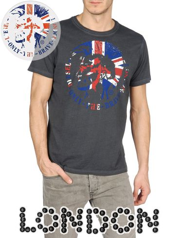 DIESEL - Short sleeves - SO-T-LONDRA-R