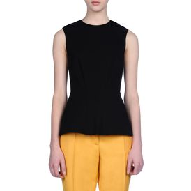 STELLA McCARTNEY, Sleeveless, Compact Jersey Sleeveless Top