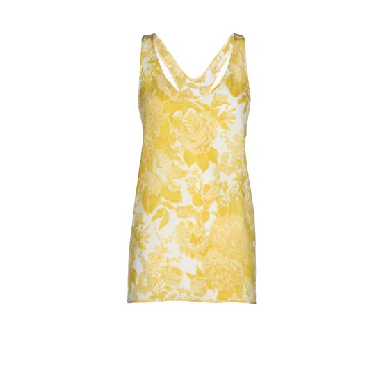 Stella McCartney, Citrus Toile De Jouy Print Fawcett Top