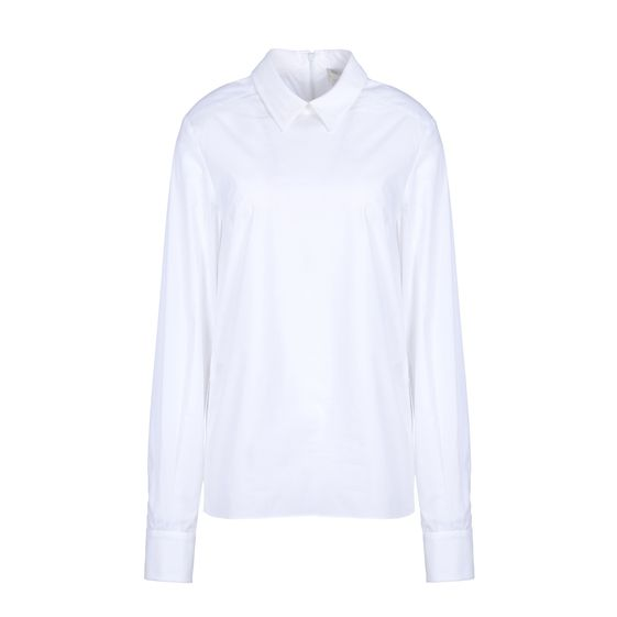 Stella McCartney, White Washed Poplin Rosaline Shirt