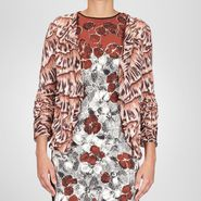 Silk Printed Cardigan - Sweater and top - BOTTEGA VENETA - PE13 - 1340