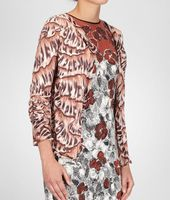 Silk Printed Cardigan