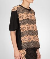 Studded Viscose Crepe Printed Top