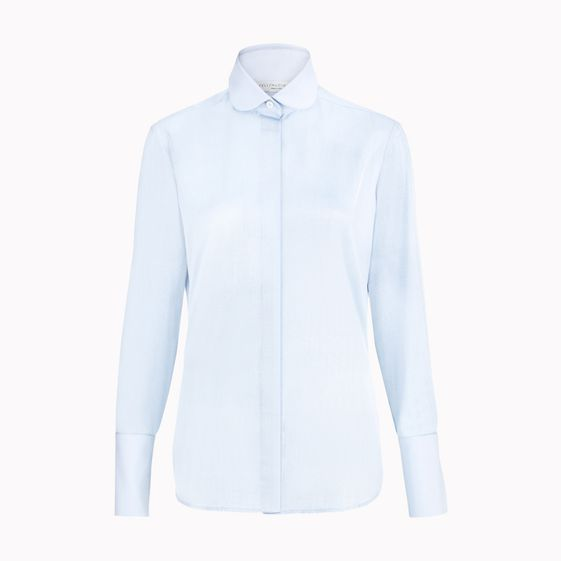 Stella McCartney, Dark Sky Herringbone Valentina Shirt