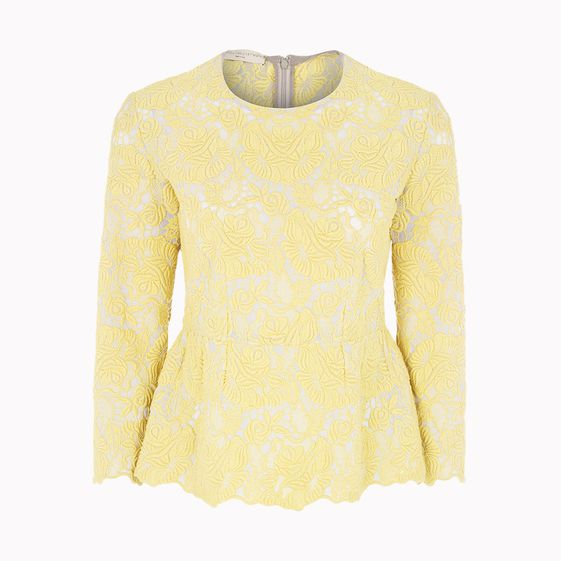 Stella McCartney, Clarence Guipure Lace Top