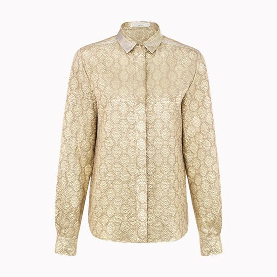 Stella McCartney, Fraser Silk Lurex Shirt