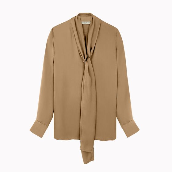 Stella McCartney, Blouse August avec cravate avant