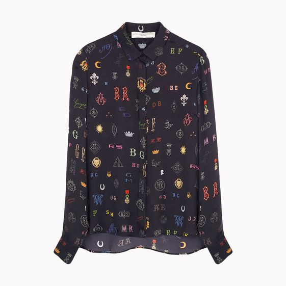 Stella McCartney, Dor Monogram Print Shirt
