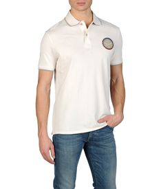 ARMANI JEANS - Short-sleeved polo