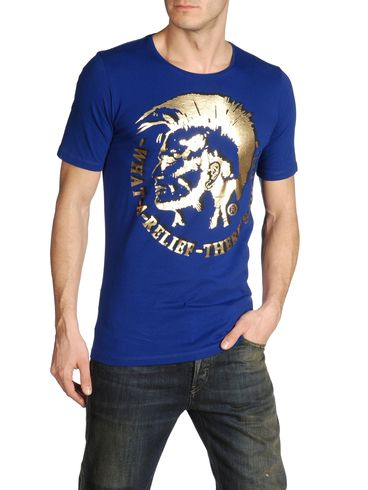 DIESEL - T-Shirt - T7-MOHICAN