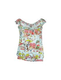 JOHN GALLIANO BEACHWEAR - Sleeveless t-shirt