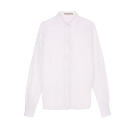 Stella McCartney, White Washed Poplin Fraser Shirt