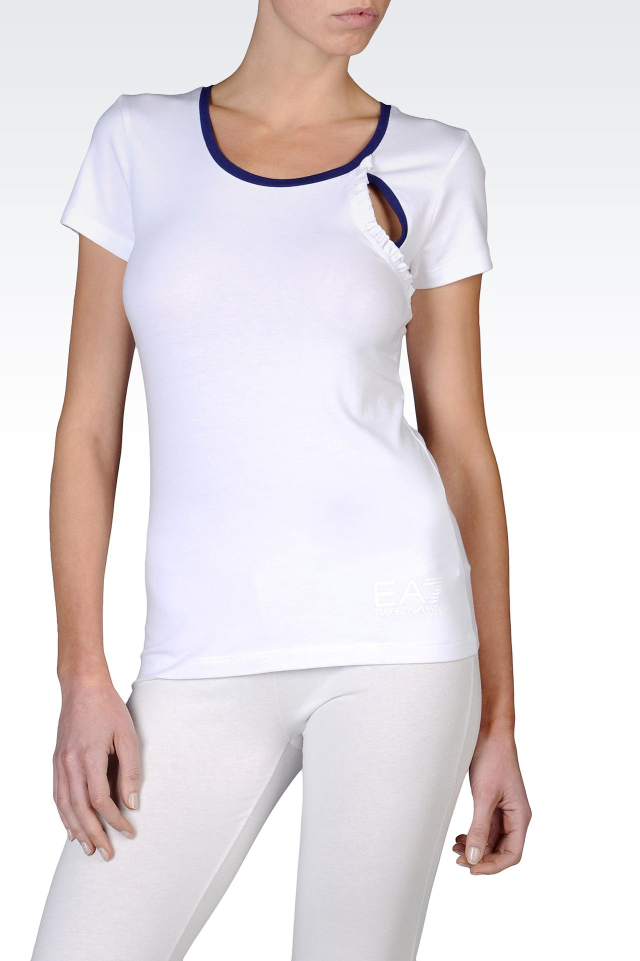 T-shirts and sweatshirts: Short sleeved t-shirts Women by Armani - 0