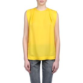 STELLA McCARTNEY, Strapless, Silk Sheer Kelvin Top