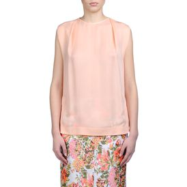 STELLA McCARTNEY, Top, Kelvin Top - Top in Seta Trasparente