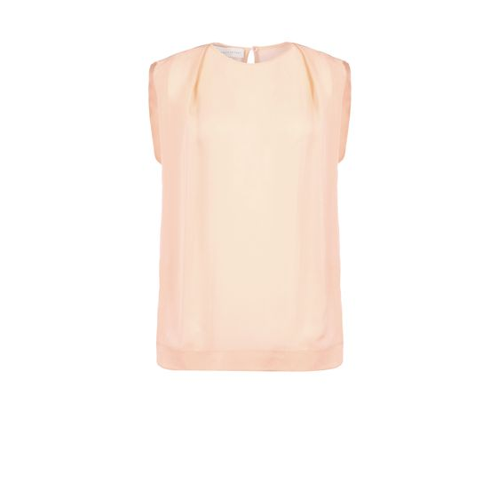 Stella McCartney, Kelvin Top - Top in Seta Trasparente