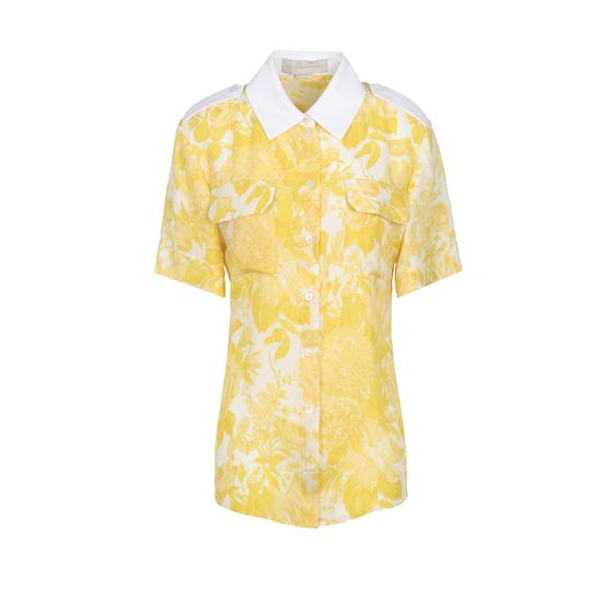 Stella McCartney, Citrus Toile De Jouy Print Maida Shirt