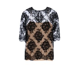 STELLA McCARTNEY, Strapless,  Cotton Lace Aurbrey Top