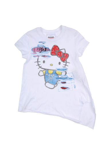 DIESEL HELLO KITTY CAPSULE COLLECTION - Short sleeve t-shirt